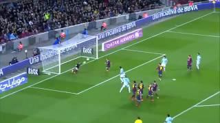 סלטה ויגו נגד ברצלונה 3:0