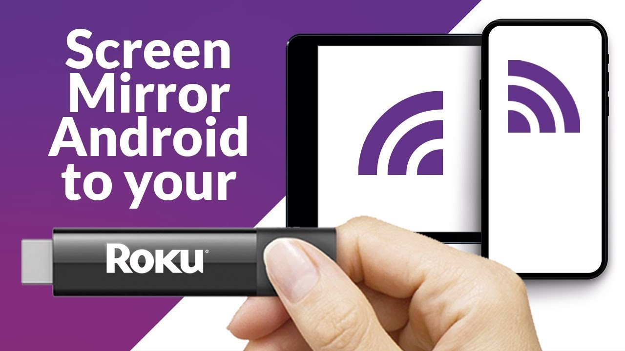 How to: Mirror Android and Kindle Fire to Roku TV 8
