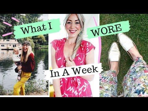 What I Wore In A Week - Autumn Fashion with Katie Ellison | SJ STRUM