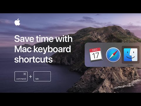 Save Time With Mac Keyboard Shortcuts — Apple Support