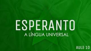 Aula 10 de Esperanto - terminações verbais