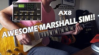 Fractal Audio AX8  STOCK PATCH  Marshall JVM AWESOME