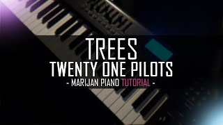How To Play: Twenty One Pilots - Trees (Step by Step Piano Tutorial)
