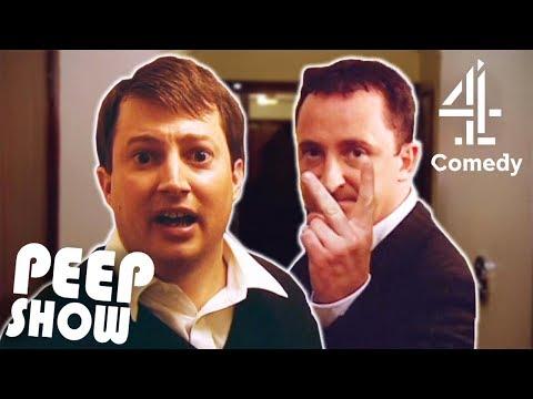 Mark Gives Jeff the Broom | Peep Show