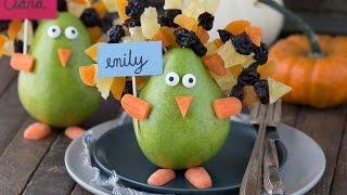 Edible Turkey Place Card Video