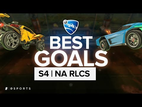 The BEST Goals from the North American Rocket League Championship Series Season 4