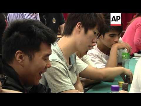 Surge in students gambling on career as croupier