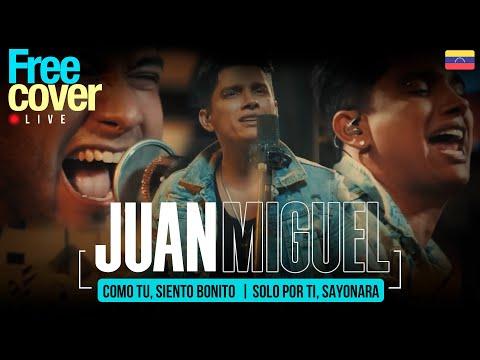 [Sesiones EN VIVO Free Cover Venezuela] Juan Miguel - Como tu, Siento bonito / Solo por ti, Sayonara
