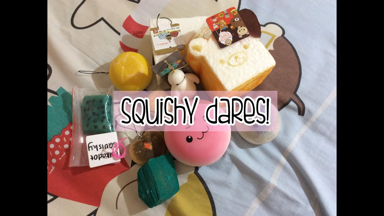 Squishy dares! (INDONESIA) - YouTube