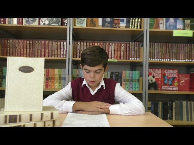 Абдула Виктор читает произведение «Лапти» (Бунин Иван Алексеевич)