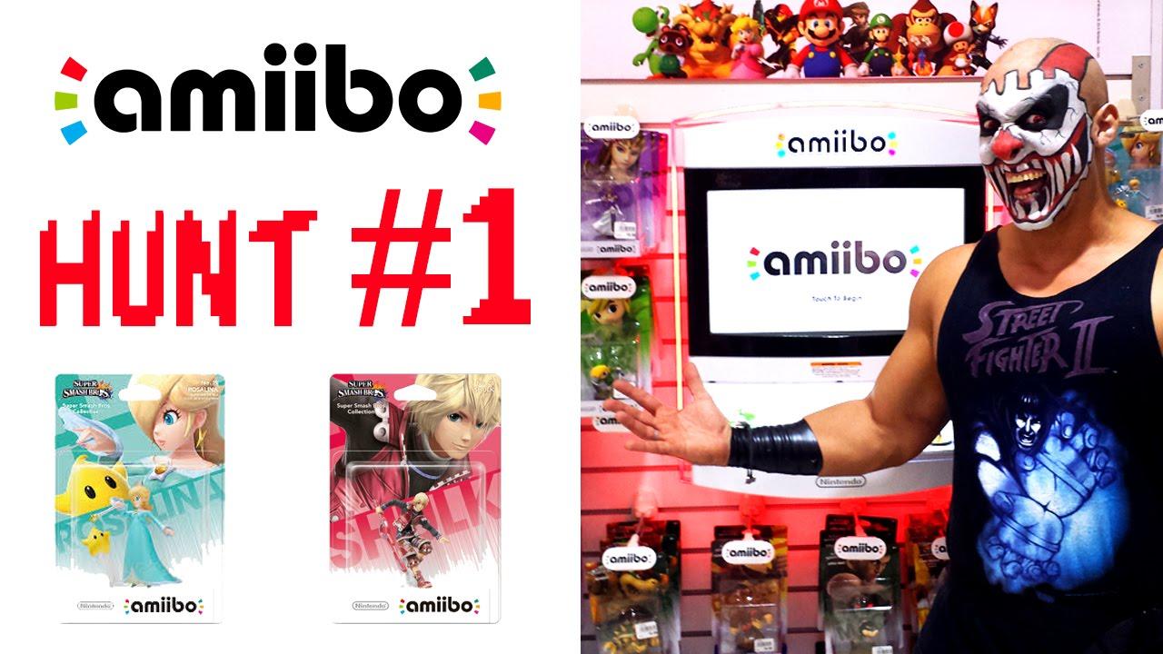 Amiibo Hunt #1 - Karcamo gaming - Hunting for Rosalina & Shulk Video Gaming