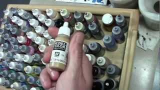 The Basics: Paints and Brushes (and Other Miniature Supplies)