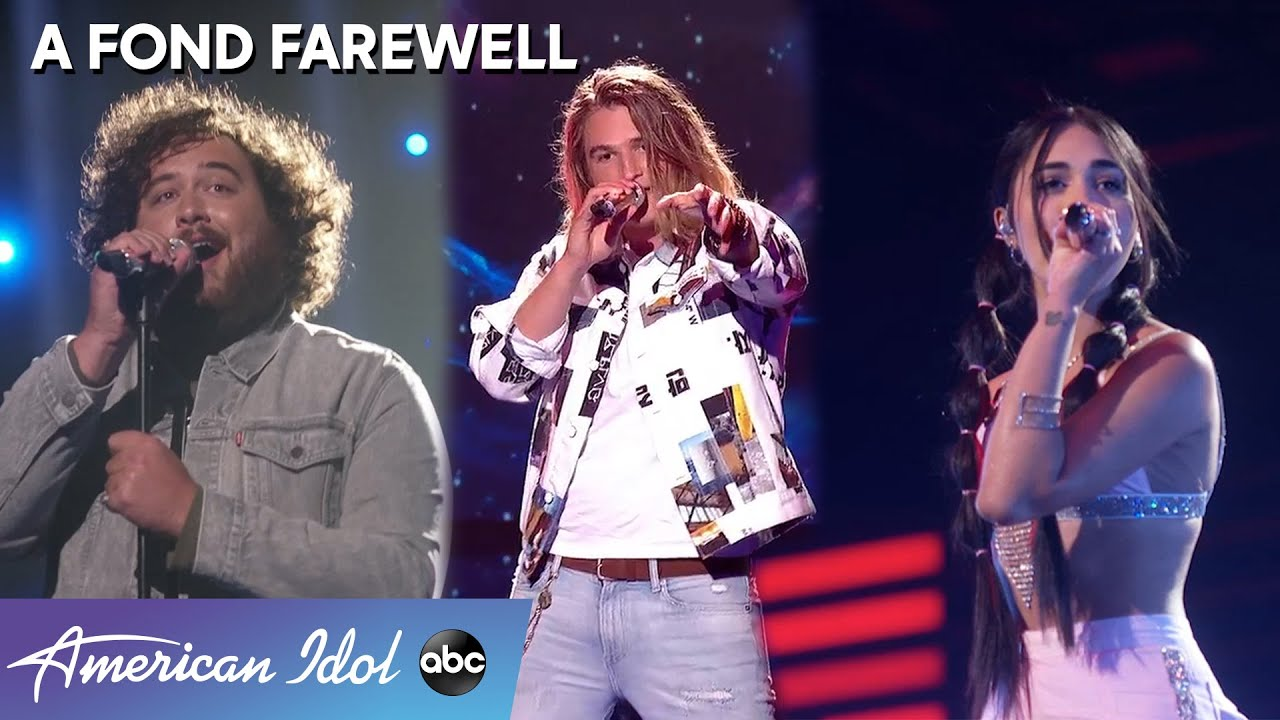 A Fond Farewell To Alanis Sophia, Colin Jamieson, and Graham Defranco - American Idol 2021