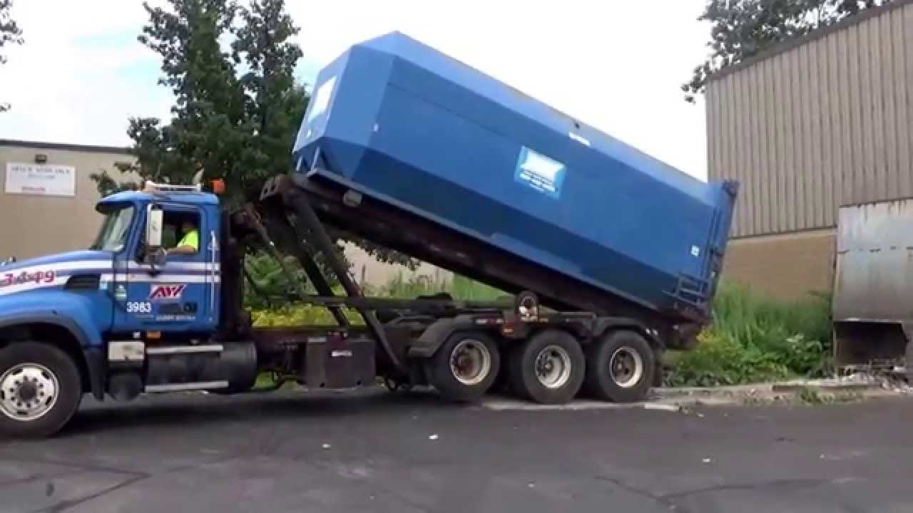 Republic Services Autocar Xpeditor Mini Heil Residential Front Loader Garbage Truck You