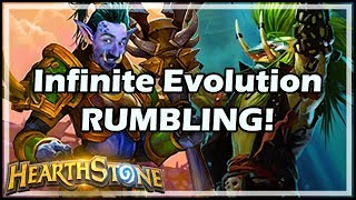 Infinite Evolution RUMBLING! - Rastakhan's Rumble Hearthstone