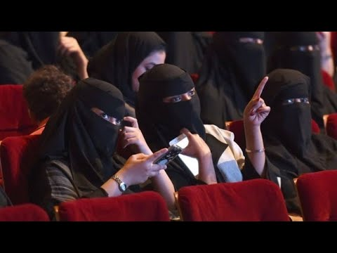 black panther the first movie to be screen in Saudi Arabia in 35 years