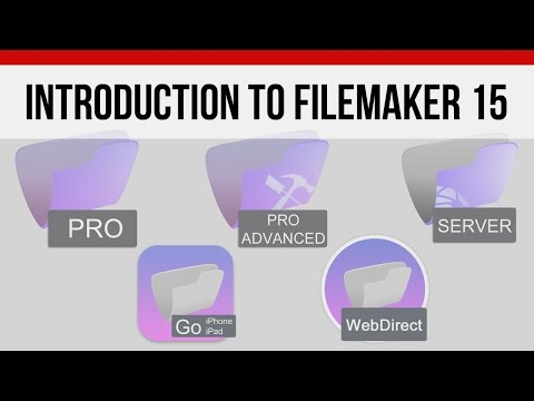 FileMaker News | FileMaker 15 Introduction | FileMaker Pro 15 Video Training | FileMaker Training