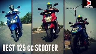 Ntorq 125 vs Grazia vs SR 125 vs Access 125 Best 125 cc Scooter #ScooterFest