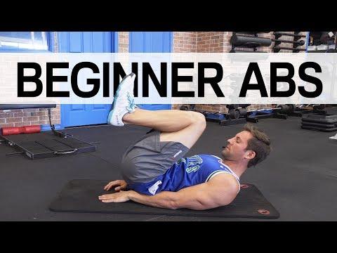 Beginner Ab Workout - No Equipment Needed