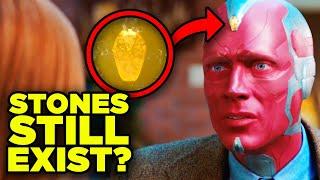 INFINITY STONES STILL EXIST? WandaVision Mind Stone & Avengers Endgame Impact Explained!
