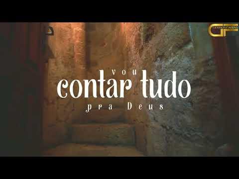 Deus e Eu   Leandro Borges Playback Legendado LYRIC VIDEO