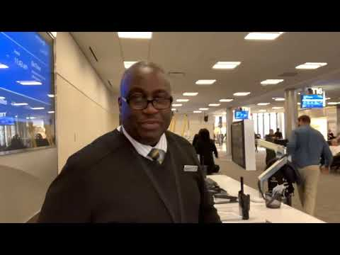 Kevin Brooks, United Airlines Best Gate Agent In Atlanta, Is Back
