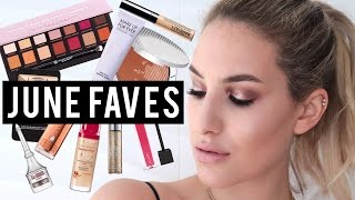 GET READY WITH ME Using My JUNE BEAUTY FAVORITES | JamiePaigeBeauty