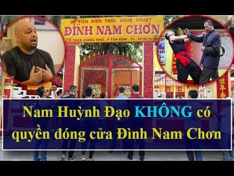 Nam Huỳnh Đạo KHÔNG Có Quyền Đóng Cửa Đình Nam Chơn