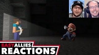 Minecraft in Smash Bros. - Easy Allies Reactions