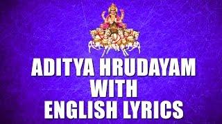 Lord Surya Narayana Songs - Aditya Hrudayam - English Lyrics