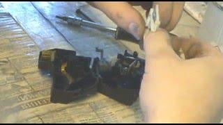 Как отремонтировать переключатель света рено 19