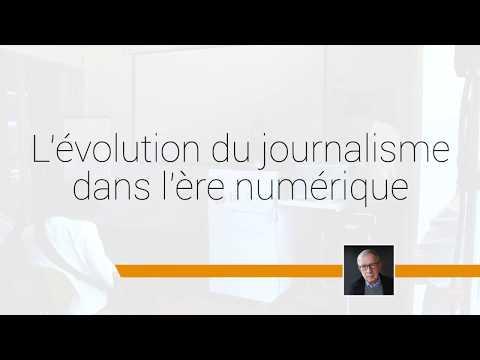 L'évolution du journalisme à l'ère du numérique