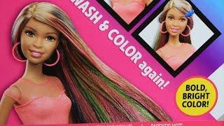 Nikki - Barbie Rainbow Hair / Barbie Tęczowe Włosy - Mattel - MegaDyskont.pl