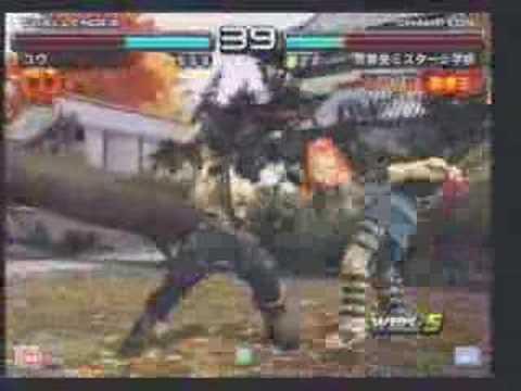 ブライアン鉄拳王(ユウ)vsファラン鉄拳王(ミスター)