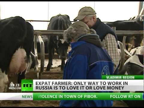 Milking Russia: 'Love it or love money'