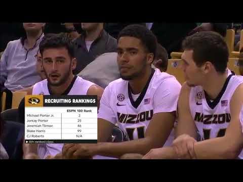 Emporia State vs Missouri   NCAA Basketball 2017   20 11 2017