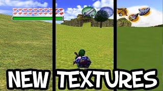 Ocarina Of Time Full HD And Cell Shaded Textures