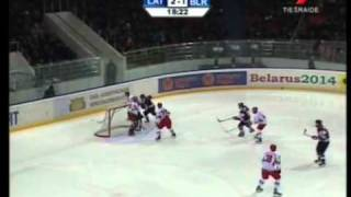 Latvia vs Belarus U20 3:1, Return to Elite Division, 2010