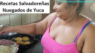 Cocinando con Gladis la Sirenita: Nuegados de Yuca con Miel. Recetas Salvadoreñas Parte 1 thumbnail