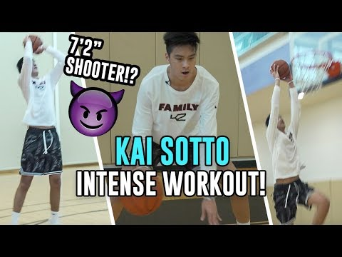 "7'2"" Kai Sotto FULL WORKOUT In America! 17 Year Old Filipino Star Is Training For The NBA 😱"
