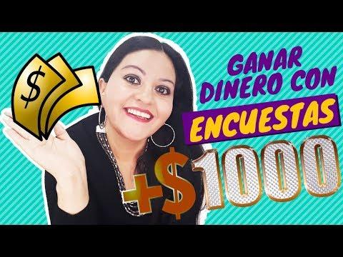 GANAR DINERO DESDE CASA CONTESTANDO ENCUESTAS MAS DE 1000 DOLARES GANADOS