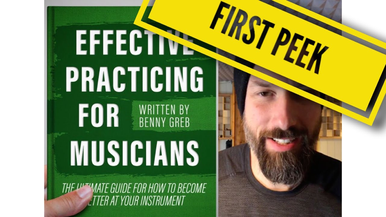 Benny Greb about his new Book: Effective Practicing for Musicians (IGlive)