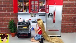 Princesa Rapunzel Cocina de Juguete Hello Kitty Accesorios de Rement - Miniaturas de muñecas thumbnail