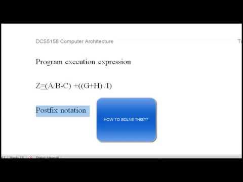 CHAPTER 3 :INSTRUCTION SET ARCHITECTURE