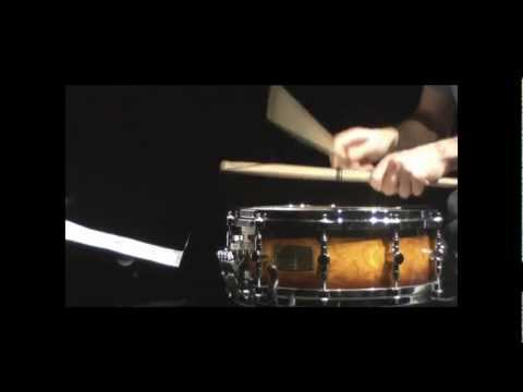meditation no.1 for solo snare drum