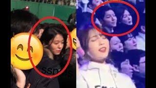 아이유 콘서트 참석한 설현, 송송커플 목격담, 후기 ㄷㄷ Song Joong Ki ❤ Song Hye Kyo and Seolhyun At Singer IU