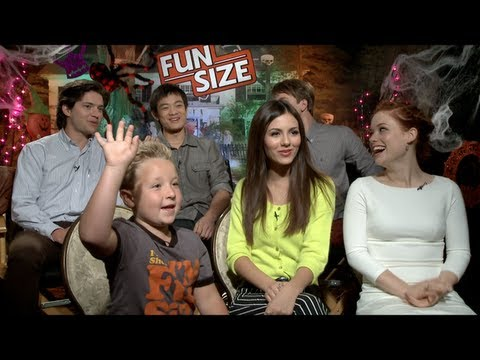 FUN SIZE Interviews: Victoria Justice, Jane Levy, Thomas Mann, Jackson Nicoll and more!