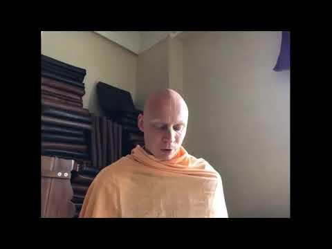 Nrsimha Prayers & Krsna Book Reading