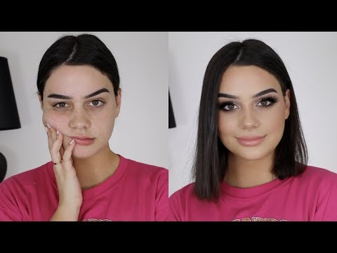 FULL FACE TRYING NEW MAKEUP!