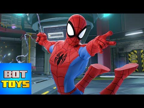 Hombre Araña en Español - El Heroe de los dibujos animados en Disney Infinity [2.0] No. 3